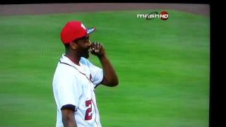 John Wall Worst First Pitch Ever