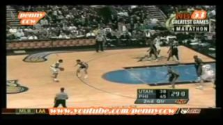 Allen Iverson Top 100 Crossover plays !!