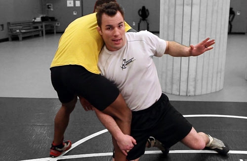 Learning Advanced Wrestling Moves: Mastering The High Crotch (Video Part 1)