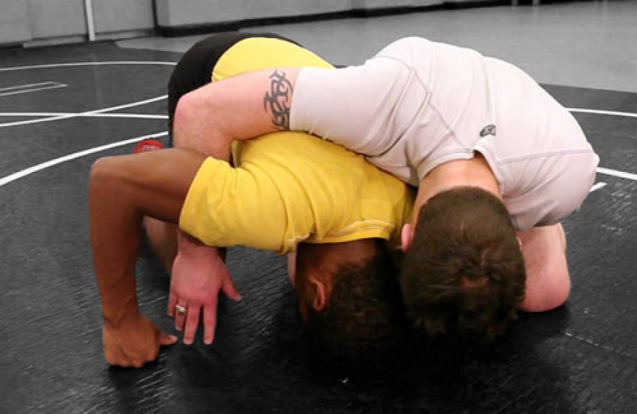 Advanced Wrestling Moves in The Wrist Ride Series (Video, Part 1)
