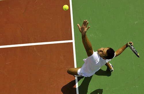 The Tennis Serve Grip: Tennis Serving Rules To Develop The Fastest Tennis Serve